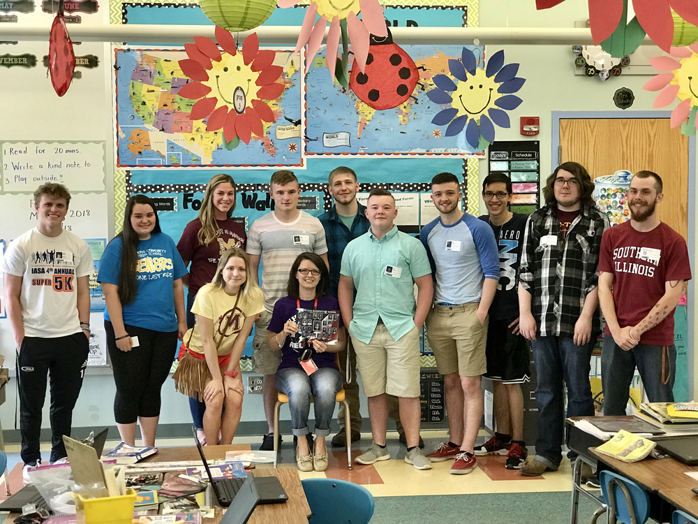 MCHS Class of 2018 Surprises Mrs. Dzelil