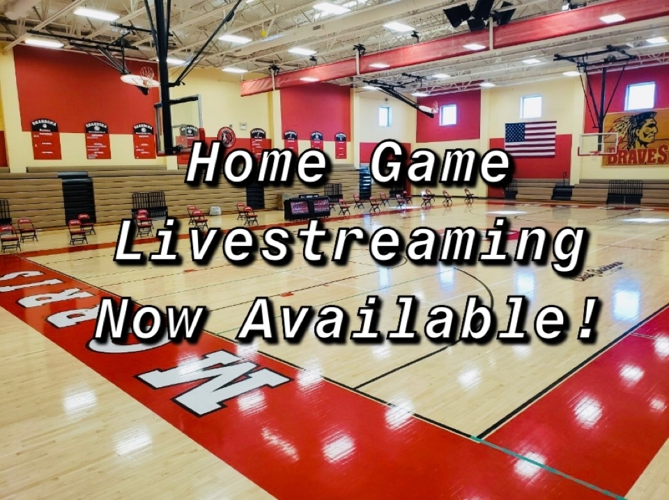 Home Game Livestreaming Now Available!