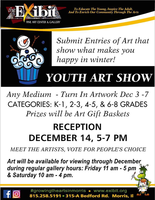 Youth Art Show at the Exhibit Art Gallery