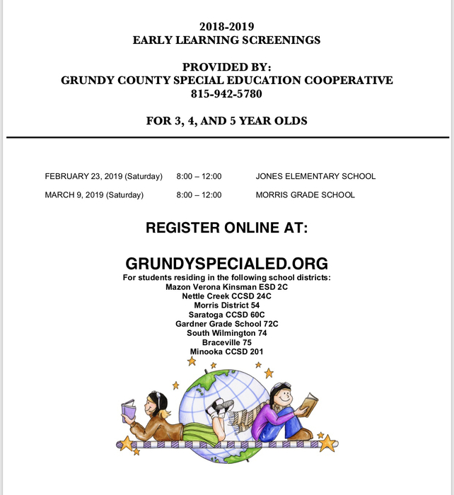 Early learning screenings