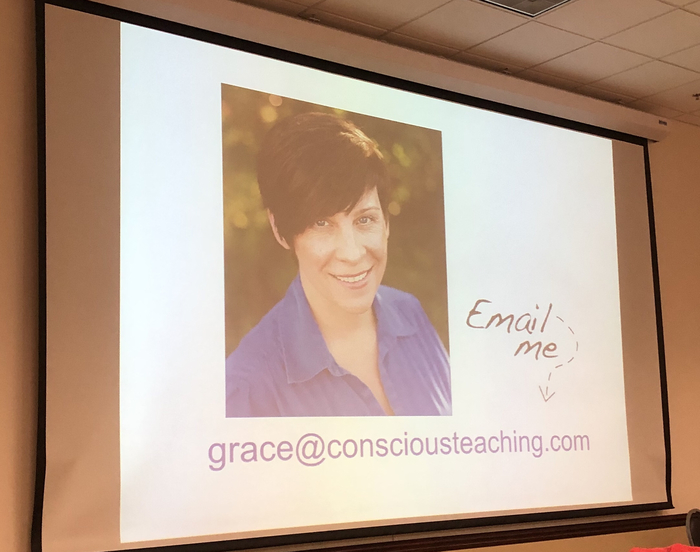 Amazing presentation by Grace Dearborn
