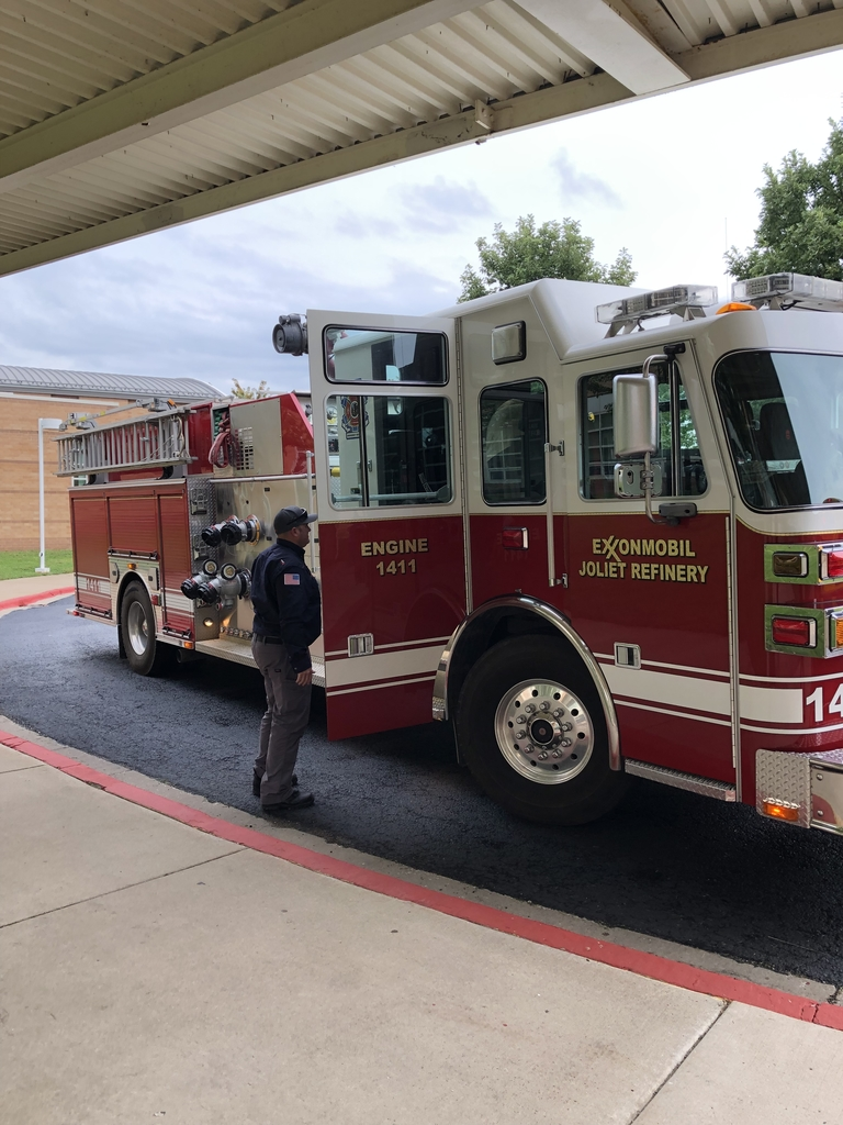 Fire truck ride to school